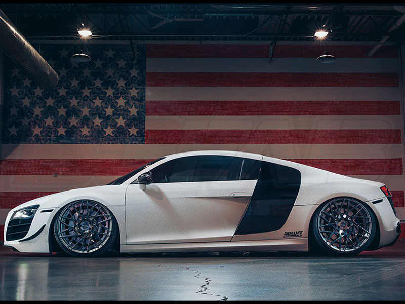 complete fbss air suspension kit 2008 2015 audi r8 level 4 w