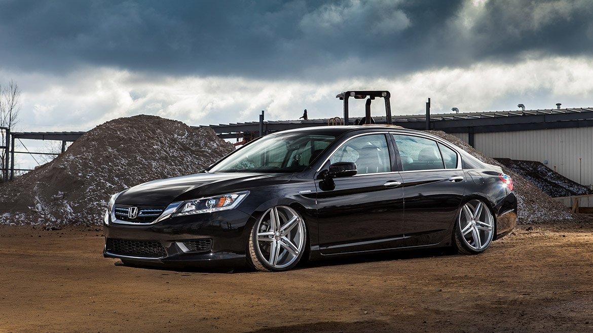 2013 2015 Honda Accord Air Suspension Kit Level 4 With
