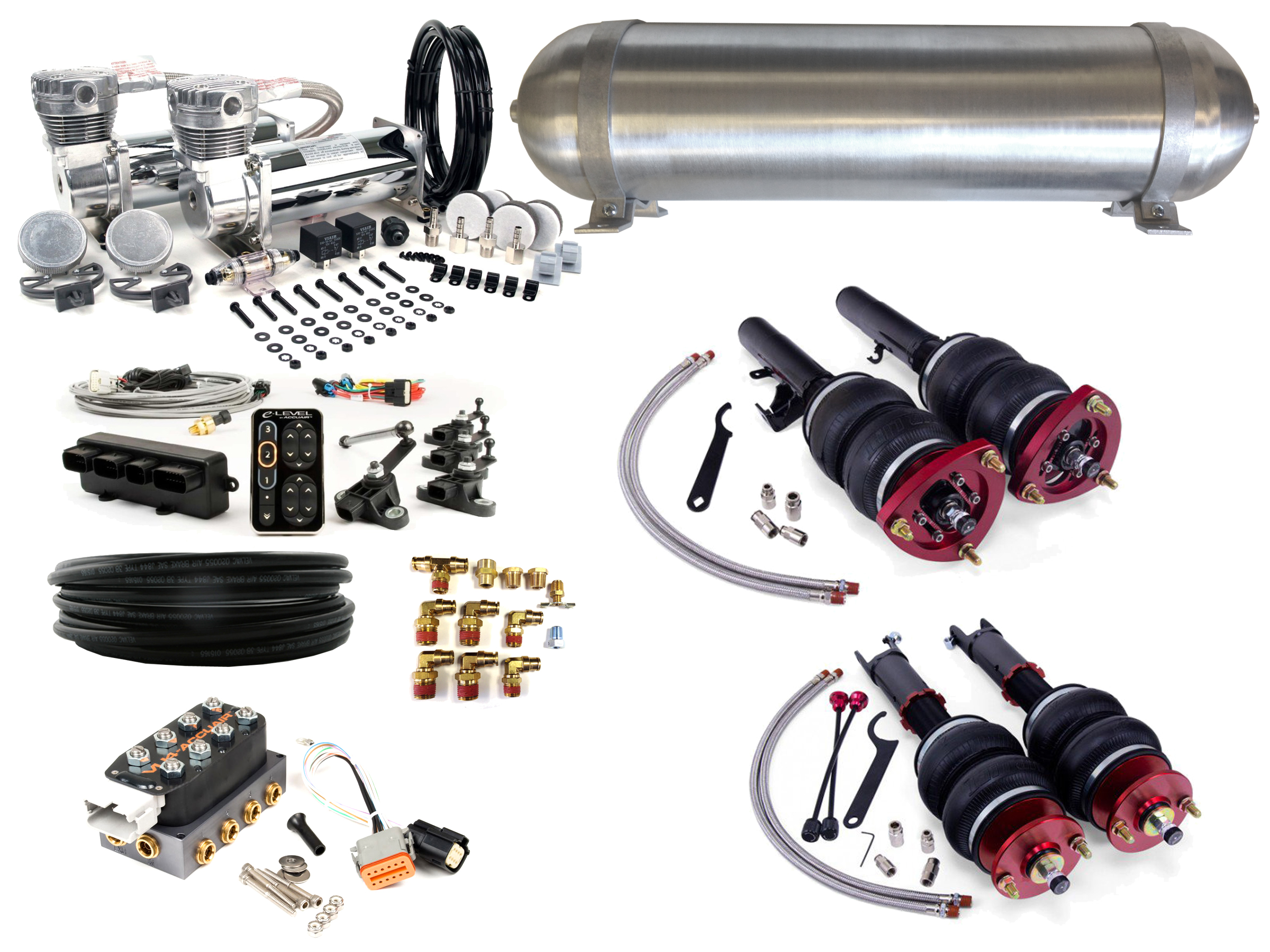 2013 2015 Honda Accord Air Suspension Kit Level 4 With Accuair Wiring Diagram Management