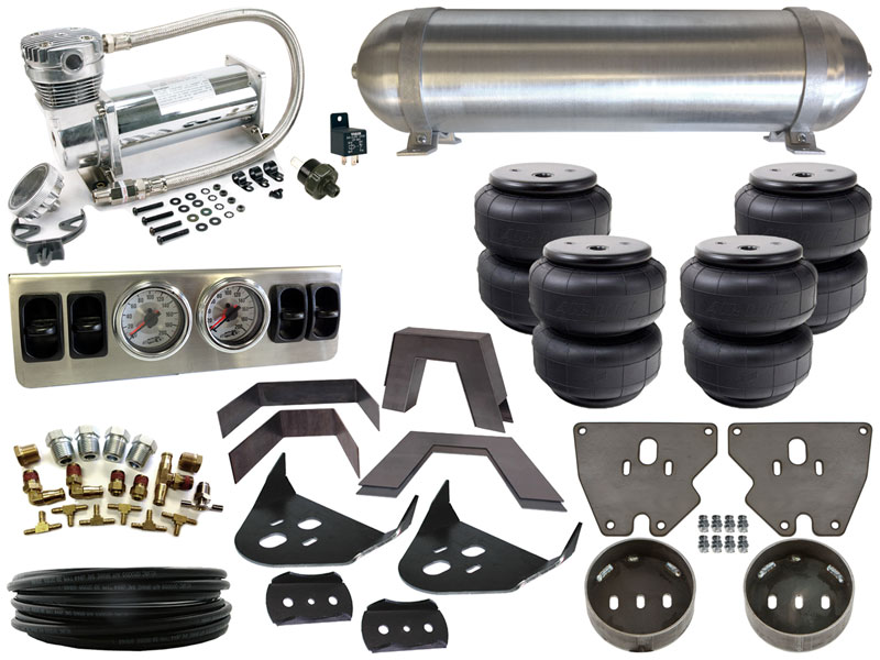 Home Air Suspension Kits Gm 1973 1987 C10 Complete Fbss Airbag Kit 73 87 Chevrolet Level 1