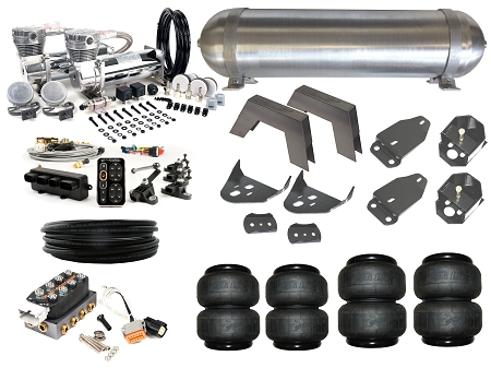 Home Air Suspension Kits Toyota Scion Lexus 95 03 Tacoma Complete Fbss Airbag Kit Level 4 With Accuair Elevel
