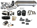 Universal Air Suspension Kit - Leaf Spring Cars & Trucks - LEVEL 4 with Accuair Management