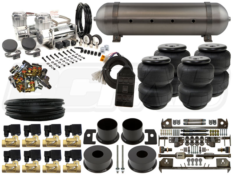 Home Air Suspension Kits Ford Lincoln Continental 1961 1963 Complete Fbss Airbag Kit
