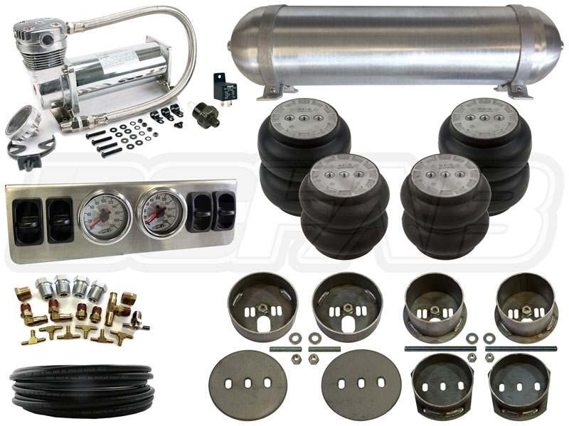 Home Air Suspension Kits Mercedes Complete Fbss Airbag Kit 65 72 W108 Level 1