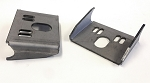 Behind-the-axle Upper Airbag Brackets - pair