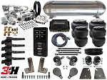 Complete FBSS Airbag Suspension Kit - 58-64 Chevrolet Impala - LEVEL 4 w/ Air Lift 3H Ride Height Control