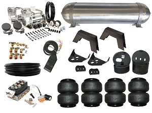 Complete fbss airbag suspension kit 02 08 dodge ram level 3 publicscrutiny Image collections