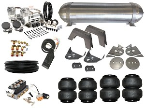 Complete FBSS Airbag Suspension Kit - 80-86 Nissan 720 - LEVEL 3