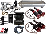 Complete Air Suspension Kit - 2009-2014 Acura TL, TSX - LEVEL 4 w/ Air Lift 3H