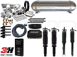Complete Air Suspension Kit - 1992-2001 Honda Prelude - LEVEL 4 w/ Air Lift 3H