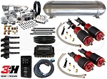 Complete Air Suspension Kit - 2000-2009 Honda S2000 - LEVEL 4 w/ Air Lift 3H