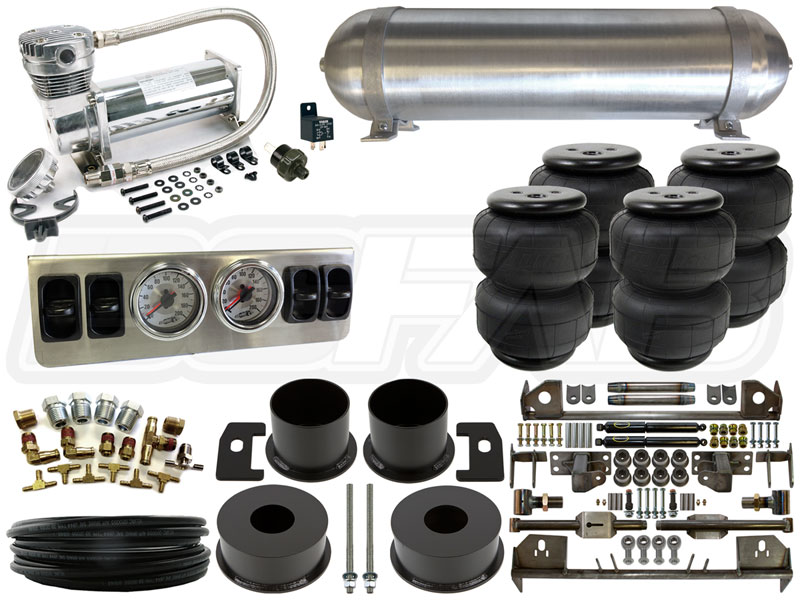 Air Bag Suspension Kits >> Complete Fbss Airbag Suspension Kit 1961 1963 Lincoln Continental Level 1