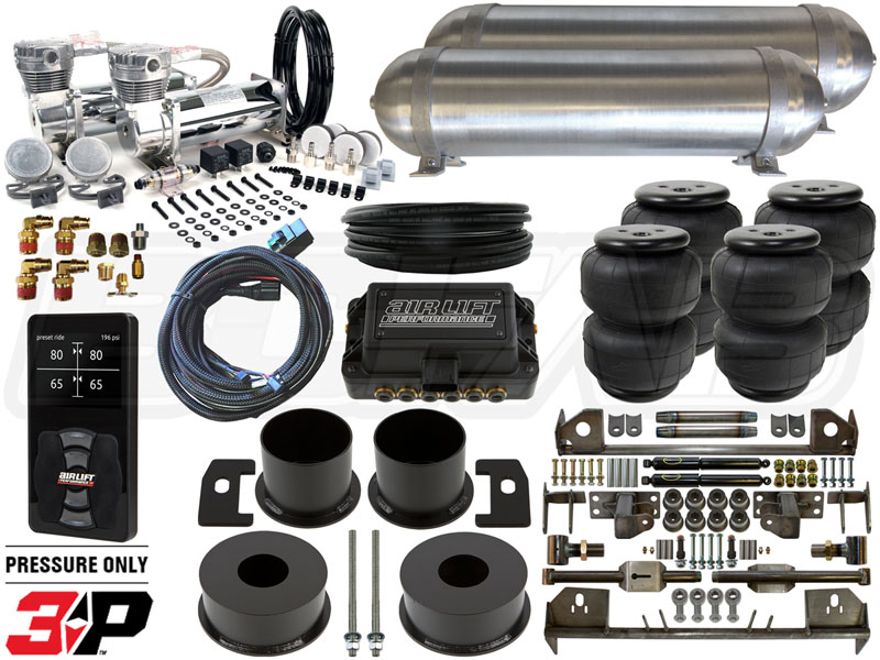 Air Bag Suspension Kits >> Complete Fbss Airbag Suspension Kit 1961 1963 Lincoln Continental Level 4 W Air Lift Performance 3p Height Control