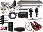 Complete Air Suspension Kit - 2012-2016 Scion FR-S - LEVEL 4 w/ Air Lift 3H