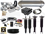 Complete Air Suspension Kit - 1990-1997 Honda Accord - LEVEL 4 w/ AccuAir eLevel