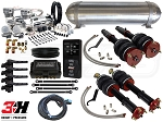 Complete Air Suspension Kit - 1998-2005 Lexus GS 300/400/430 - LEVEL 4 w/ Air Lift 3H