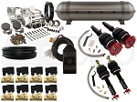 Complete Air Suspension Kit - 2006-2013 Lexus IS 350 RWD - LEVEL 2