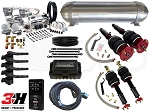 Complete Air Suspension Kit - 2006-2013 Lexus IS 350 RWD - LEVEL 4 w/ Air Lift 3H