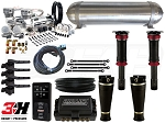 Complete Air Suspension Kit - 2008-2015 Scion xB - LEVEL 4 w/ Air Lift Performance 3H