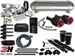 Complete Air Suspension Kit - Volkswagen MKIV Platform - LEVEL 4 w/ Air Lift 3H