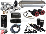 Complete Air Suspension Kit - Volkswagen MKIV Platform - LEVEL 4 w/ Air Lift 3P