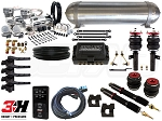 Complete Air Suspension Kit - Volkswagen MKV & MKVI - LEVEL 4 w/ Air Lift 3H