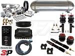 Complete Air Suspension Kit - Volkswagen MKV & MKVI - LEVEL 4 w/ Air Lift 3P