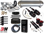 Complete Air Suspension Kit - 2002-2008 B6 B7 Platform - LEVEL 4 w/ Air Lift 3H