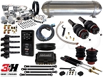 Complete Air Suspension Kit - 2009-2017 B8 Platform - LEVEL 4 w/ Air Lift 3H