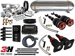 Complete Air Suspension Kit - 1997-2004 C5 Platform - LEVEL 4 w/ Air Lift 3H