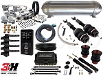 Complete Air Suspension Kit - 2004-2011 C6 Platform - LEVEL 4 w/ Air Lift 3H