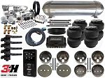 Complete FBSS Airbag Suspension Kit - 1998-2002 Lincoln Navigator/Expedition - LEVEL 4 w/ Air Lift Performance 3H