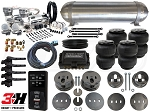 Complete Air Suspension Kit - 1977-1984 Cadillac - Level 4 w/ Air Lift 3H