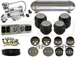 Complete FBSS Airbag Suspension Kit - 65-72 Mercedes W108 - LEVEL 1