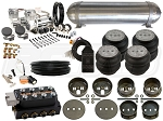 Complete FBSS Airbag Suspension Kit - 65-72 Mercedes W108 - LEVEL 3