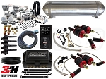 Complete Air Suspension Kit - 2008-2015 Audi R8 Platform - LEVEL 4 w/ Air Lift 3H