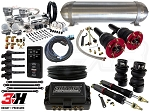 Complete Air Suspension Kit - 2015-2017 BMW M3/M4 - LEVEL 4 w/ Air Lift 3H