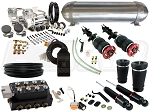 Complete FBSS Airbag Suspension Kit - 2005-2014 Ford Mustang (S197) - LEVEL 3