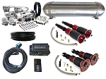 89-94 Porsche 911 Air Suspension Kit - LEVEL 4 with Air Lift Performance Height Control