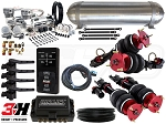Complete Air Suspension Kit - 2008-2017 Nissan GT-R - LEVEL 4 w/ Air Lift 3H