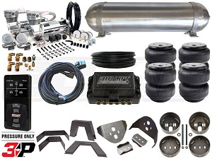 Complete Air Suspension Kit - 1988-1998 Chevrolet C/K - LEVEL 4 w/ Air Lift 3P