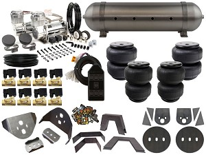 Complete Air Suspension Kit - 1986-1993 Mazda B-Series - LEVEL 2