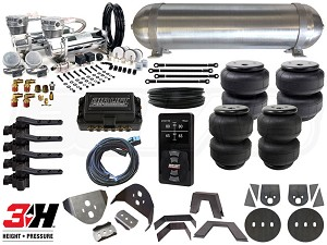 Complete Air Suspension Kit - 1986-1993 Mazda B-Series - LEVEL 4 w/ Air Lift 3H
