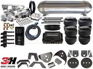 Complete Air Suspension Kit - 1998-2003 Nissan Frontier - LEVEL 4 w/ Air Lift 3H