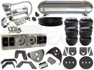 Complete Air Suspension Kit - 1980-1986 Nissan 720 - LEVEL 1