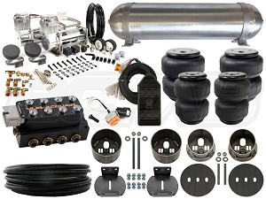 Complete FBSS Airbag Suspension Kit - 1961-1964 Cadillac DeVille - LEVEL 3