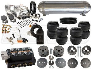 Complete Air Suspension Kit - 1977-1984 Cadillac DeVille - LEVEL 3