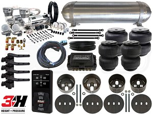 Complete Air Suspension Kit - 1975-1979 Lincoln Continental - LEVEL 4 w/ Air Lift 3H