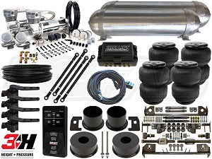 Complete FBSS Airbag Suspension Kit - 1961-1963 Lincoln Continental - LEVEL 4 w/ Air Lift Performance 3H Height Control