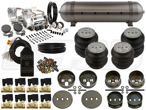 Complete FBSS Airbag Suspension Kit - 65-72 Mercedes W108 - LEVEL 2